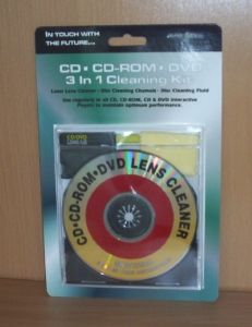 CD/DVD 3 in 1 Cleaning Kit